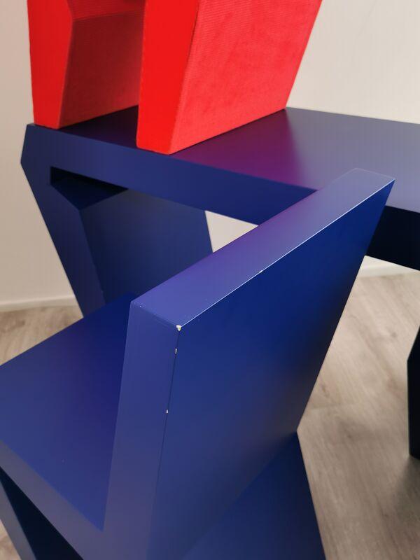 Table et chaises de Luc Brinkman 2003