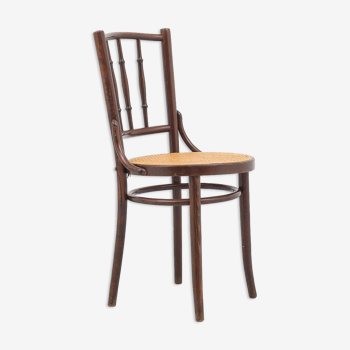Chaise bistrot cannage