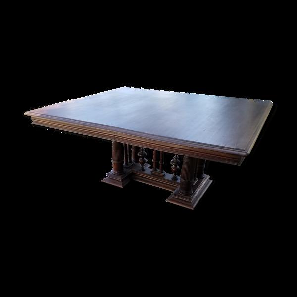 Table en noyer