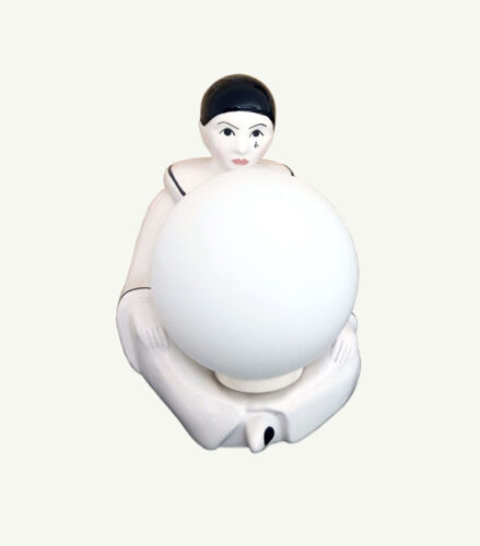 Lampe céramique Pierrot
