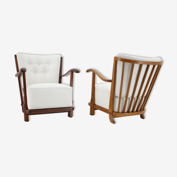 Paire de fauteuils des années 50 Danemark
