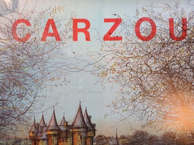 Affiche de Carzou - Chateau de Val 1977