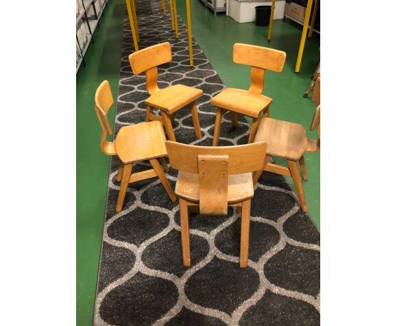 Chaise scandinave pour enfant de 1960