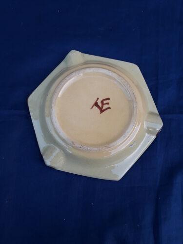 Cendrier en faïence de Malicorne diam 11,5 cm