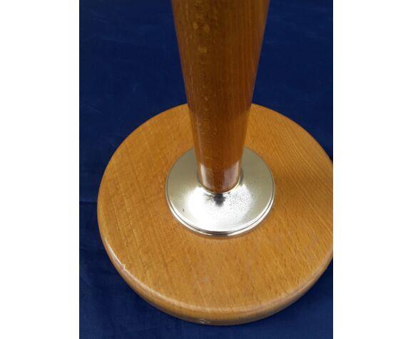 Pied de lampe type Mada avec tirette H 38 cm
