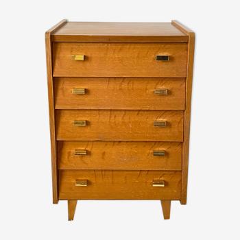 Commode vintage à tiroirs