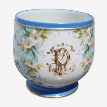 Cache-pot en porcelaine