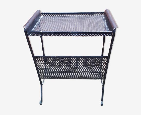 Porte-revues métal perforé design 50