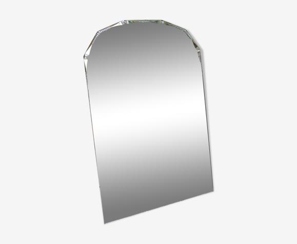 Miroir biseauté années 30 63x103cm
