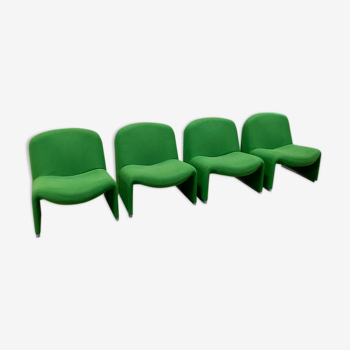"""Giancarlo Piretti's """"Alky"""" chair by Artifort 1970s"""