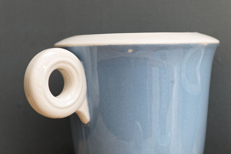 Cafetière théière et pot à sucre années 50 style art déco
