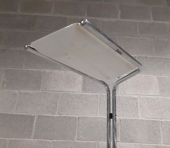 Lampadaire métal par Bruno Gecchelin pour iGuzzini