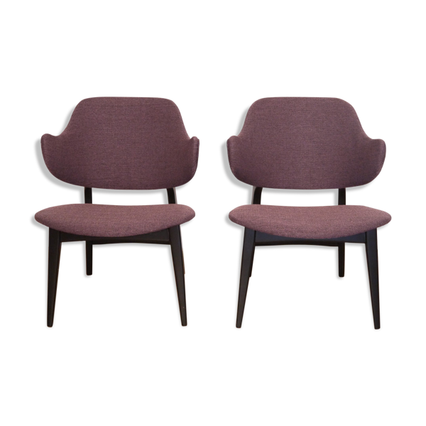 Selency Paire de fauteuils vintage scandinave