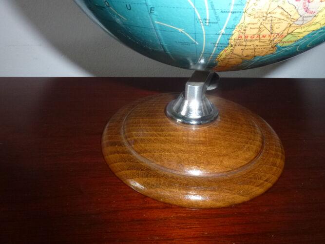 Globe terrestre mappemonde Taride 1978