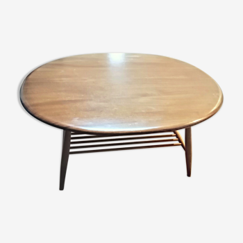 Table basse Ercol vers 1960