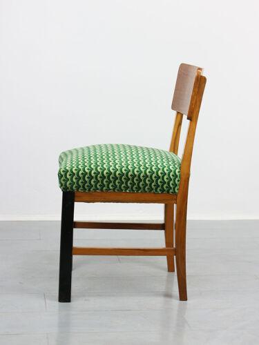 Chaises à manger art déco vintage