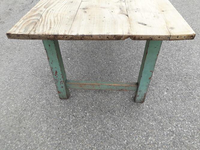 Table de ferme patinée 300 cm