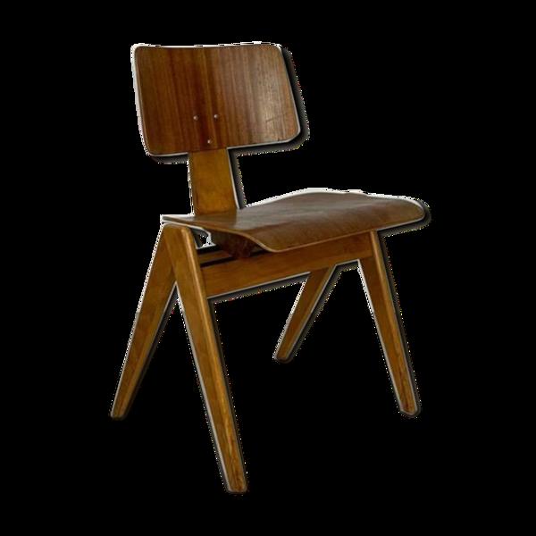 Selency Chaise empilable Robin Day XIXe moulé contreplaqué