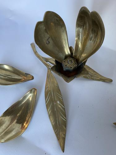 Fleur laiton