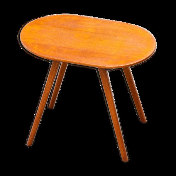 Table basse scandinave en teck 1960