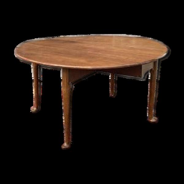 Table à volets en acajou XVIII ème siècle