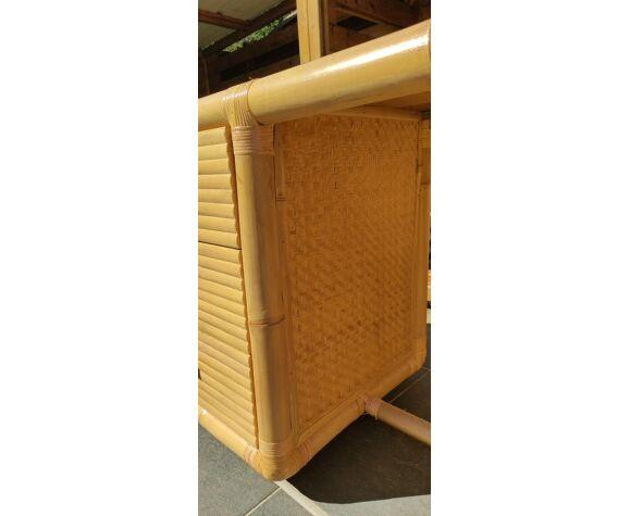 Bureau en bambou