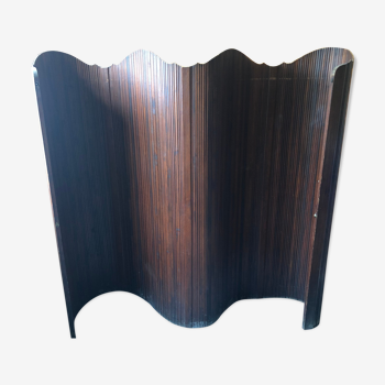 Paravent en bois das le style Jomain Baumann
