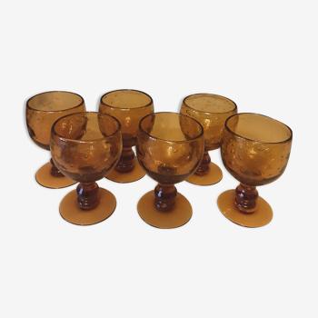 Set de 6 verres a pied Biot