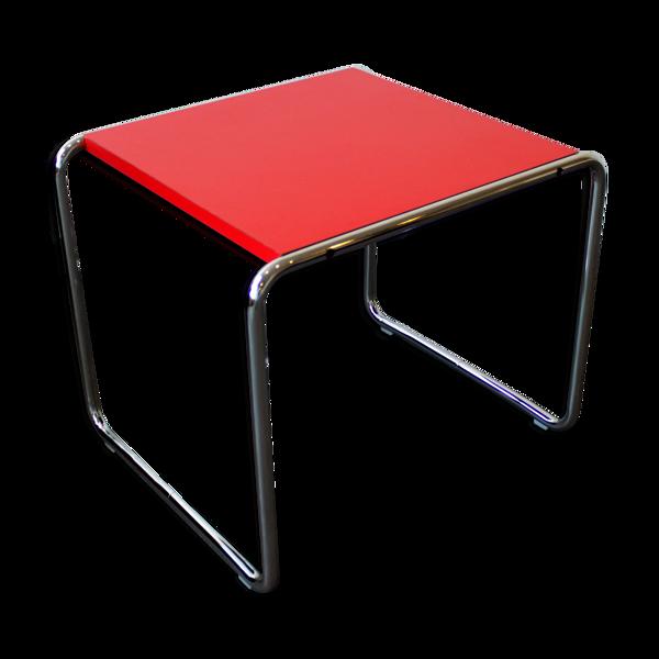 Table d'appoint Knoll, modèle Laccio par Marcel Breuer