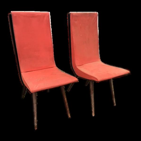 Paire de chaises Stella d'époque, modèle Pallas