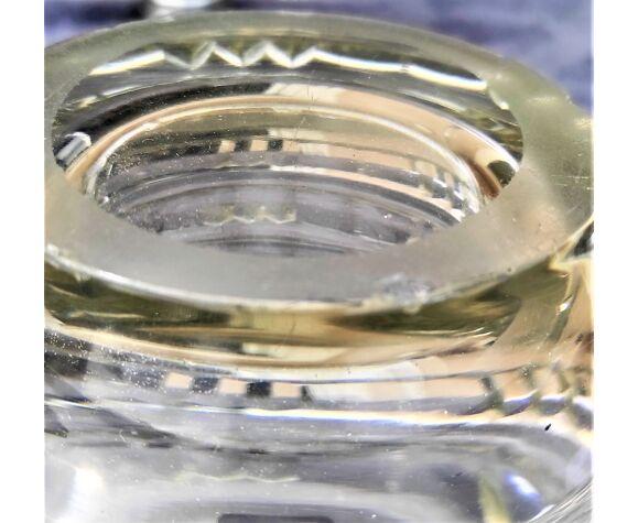 Vase cristal avec taille plate de 3.500 kg