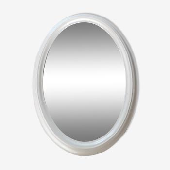 Miroir ovale 66.5 X 48cm