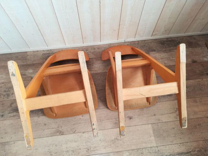 Chaises d'école Casala