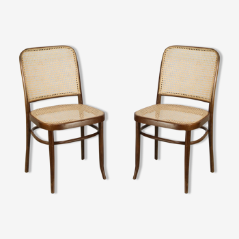 Ensemble de 2 chaises Thonet n° 811