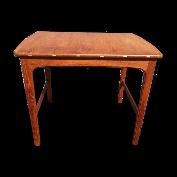 Table en teck AB Seffle Möbelfabrik par Yngvar Sandström