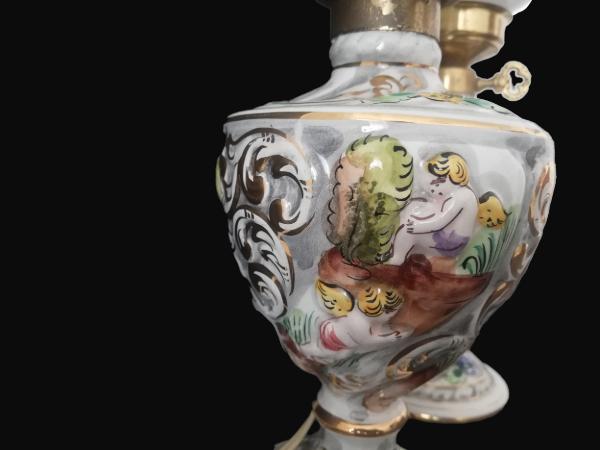 Lampes de table en céramique Art Nouveau