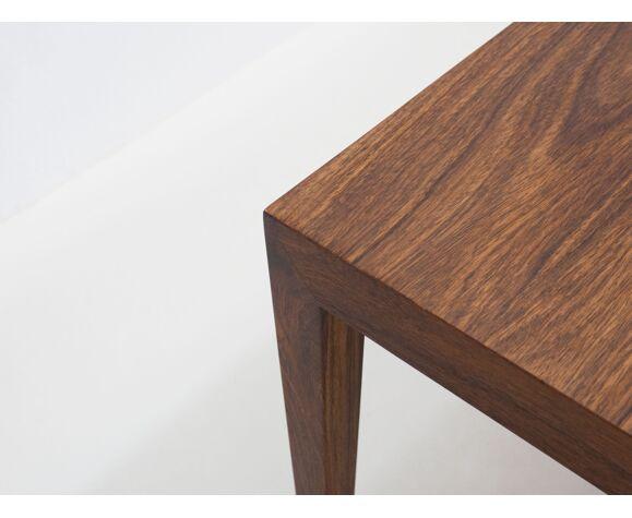 Table basse en palissandre par Severin Hansen pour Haslev Møbelsnedkeri