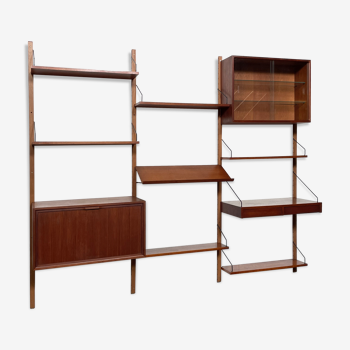 Vintage Poul Cadovius Royal System wall system wall unit