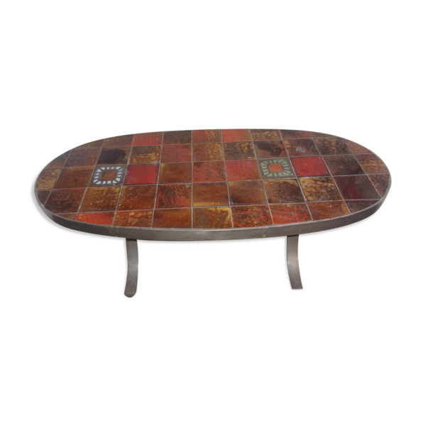 Selency Table basse céramique Roche & Bobois 1970