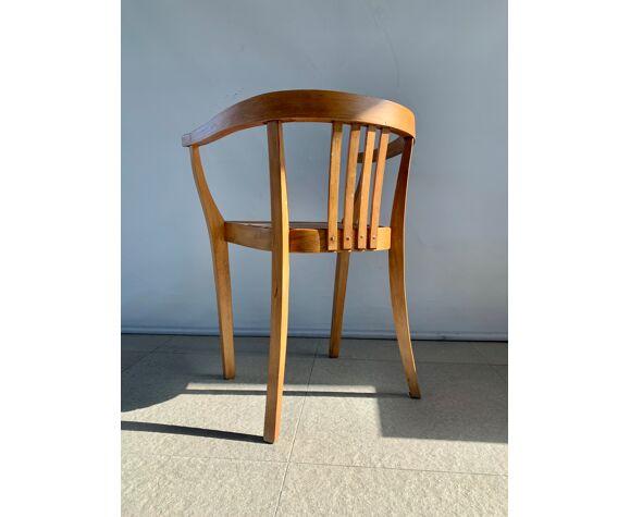 Chaise en bois arte déco