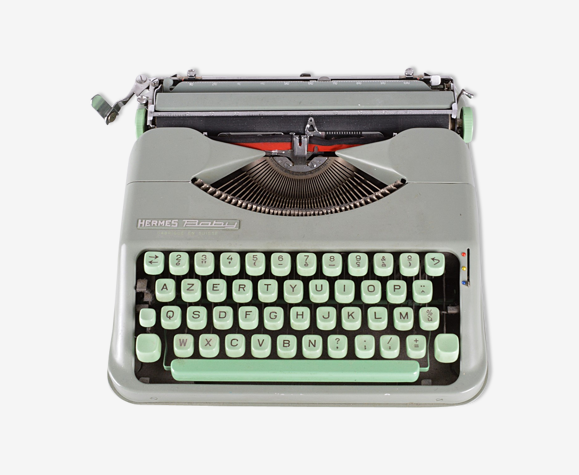 Machine à écrire portative Hermès Baby