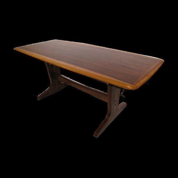 Table basse de salon ajustable en hauteur  1960's