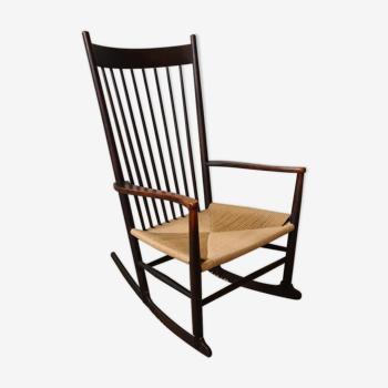 Rocking chair scandinave f16 Hans wegner