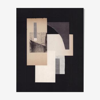 Collage concrete experiment ii