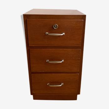 Meuble à tiroirs bois
