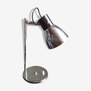 Lampe chromée orientable années 70