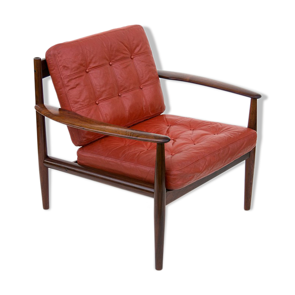 Selency Fauteuil model 118 design Grete Jalk France & Son for Teak