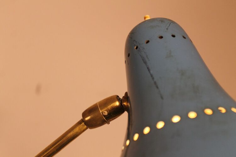 Lampadaire à trois lampes de Stilnovo 1950
