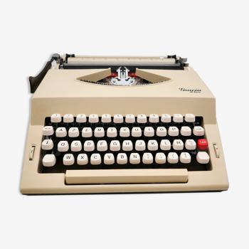 Gracia Deluxe Beige Typewriter Vintage Revised Ribbon New