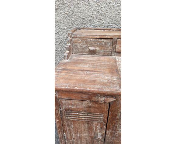 Old wooden secretary